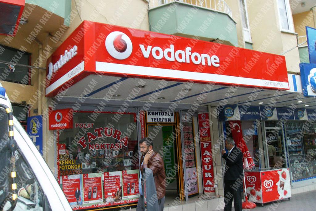 Vodafone tabelası