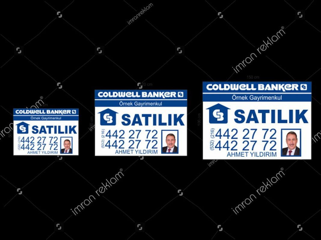 Coldwell Banker Afişleri modelleri