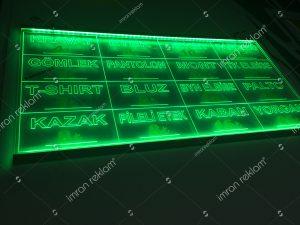 Gravür oyma tabela