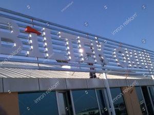 Mazgalli Pleksi Çatı Tabelası