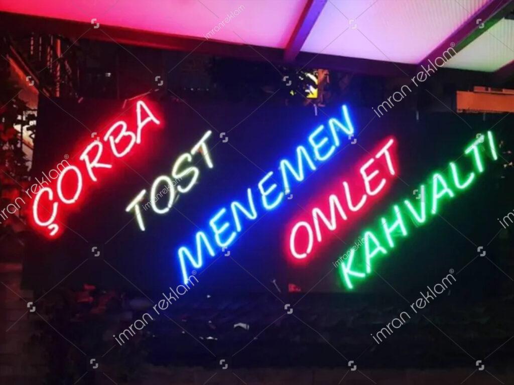 Neon Büfe Tabelası