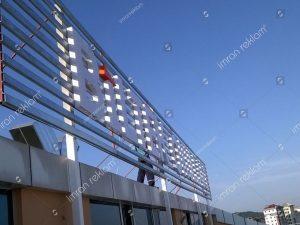 Pleksi Çatı Tabelaları