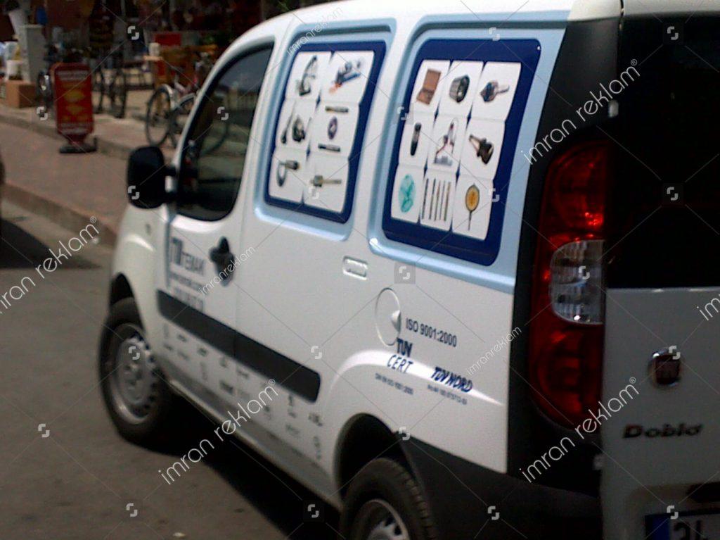 2008 Fiat Doblo Araç Giydirme
