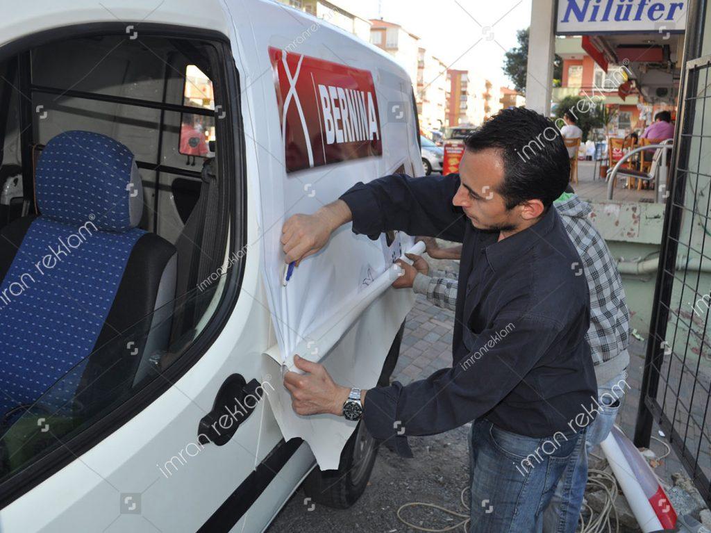 2009 Fiat Doblo Araç Kaplama