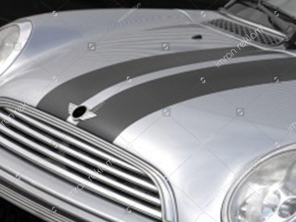 Mini Cooper araç renk değişimi