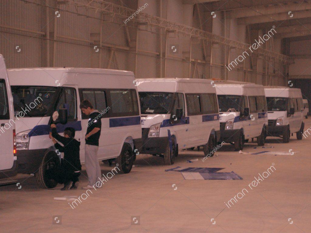 Ford Transit Filo Araç Giydirme
