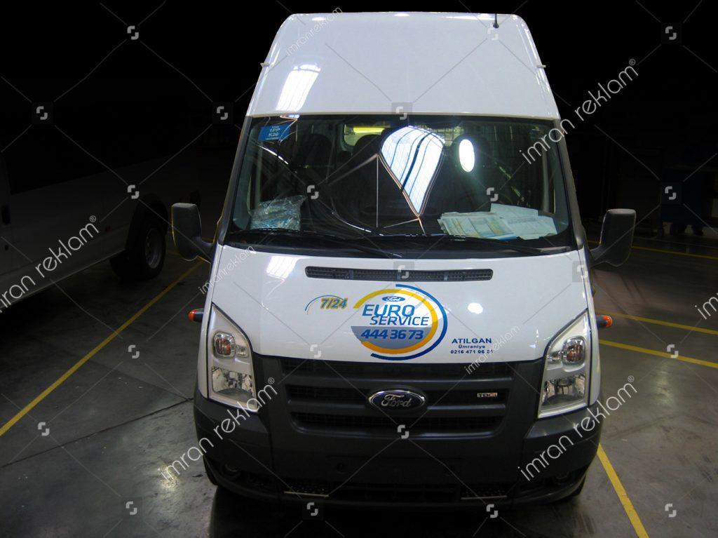 Ford Transit Araç Kaplama