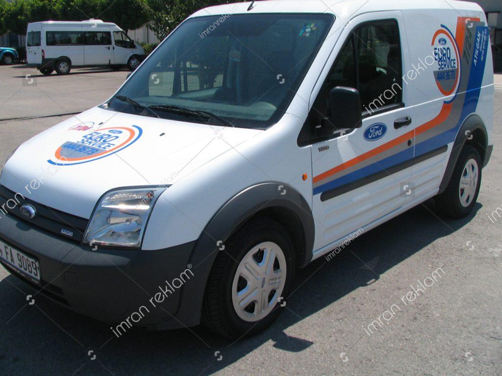 Ford Transit Araç Kaplama örnekleri
