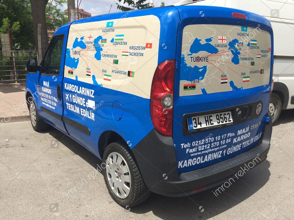 Fiat Doblo Araç Kaplama örnekleri