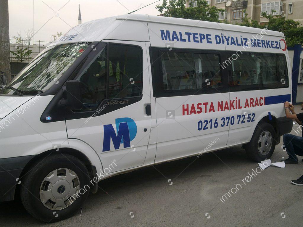Transit logo Giydirme