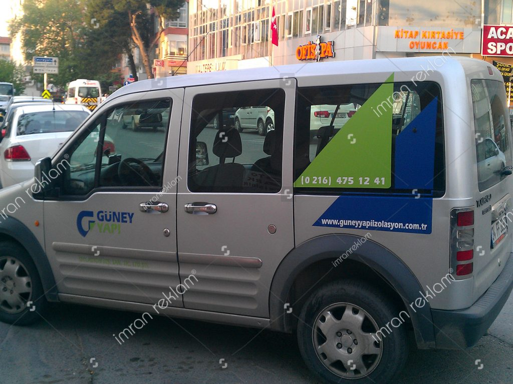 Transit logo yazı kaplama