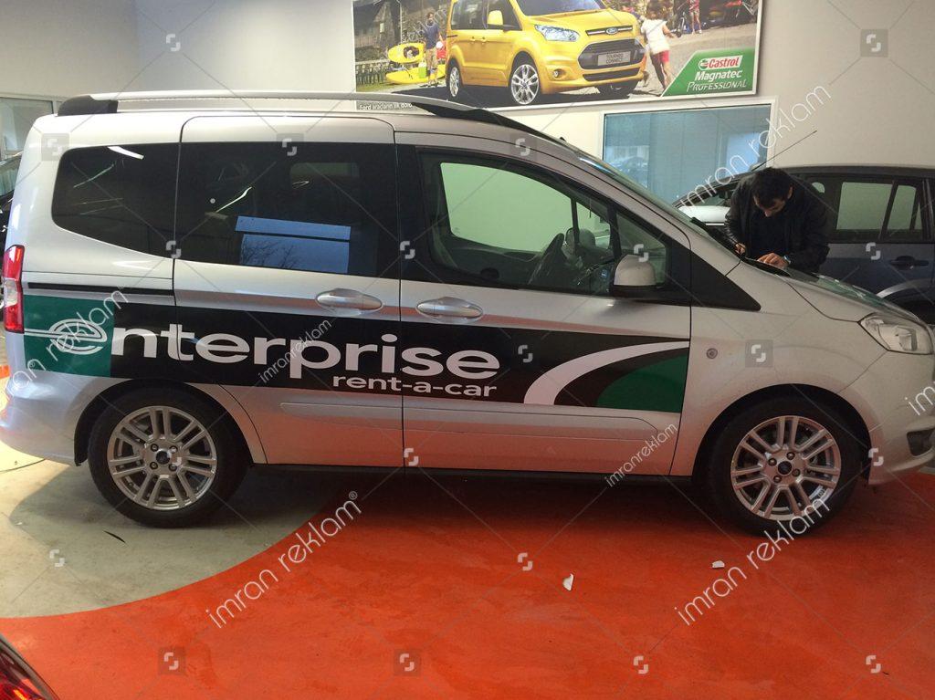 Ford Tourneo araç kaplama