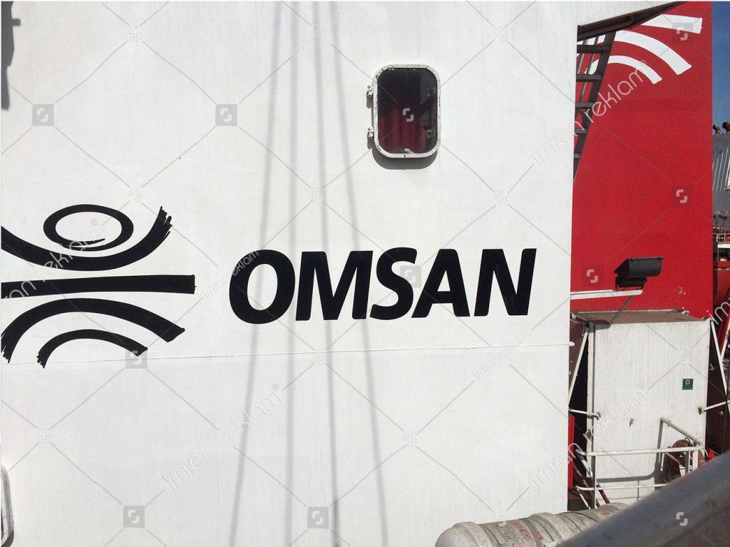 Gemi Logosu Giydirme