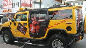 Hummer Araç Reklam Giydirme