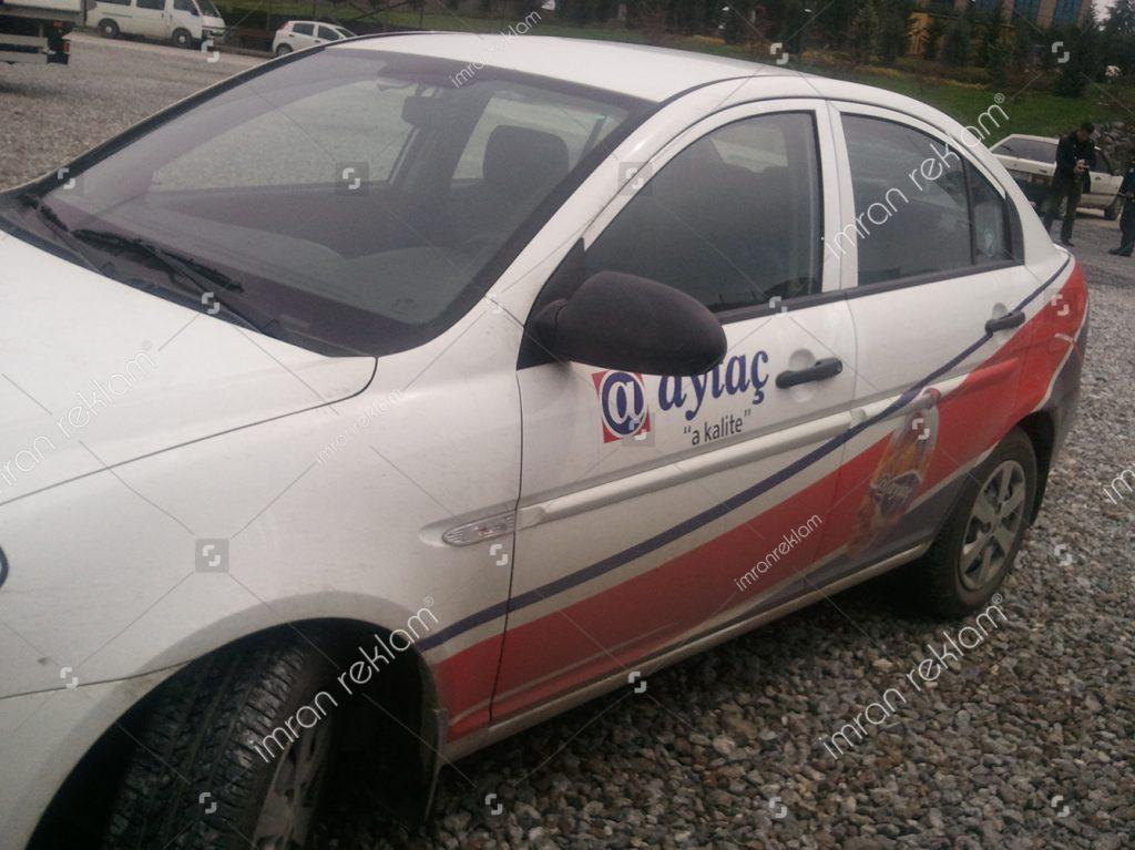 Hyundai accent araç kaplama