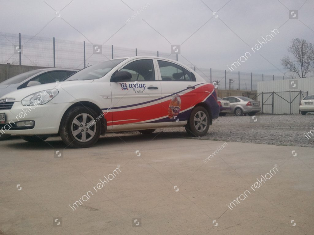 Hyundai accent araç giydirme örnekleri