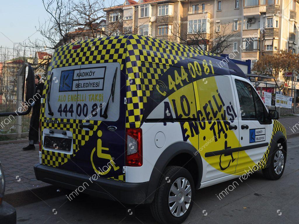 Ford Tourneo araç reklam giydirme