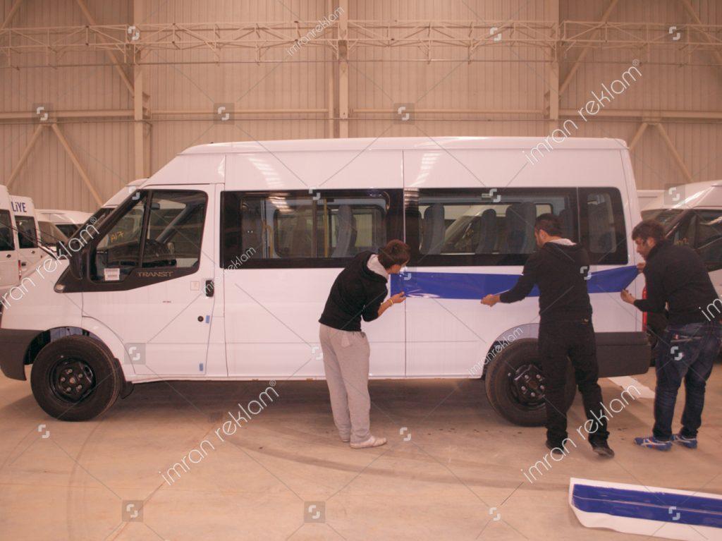Transit Filo Araç Giydirme