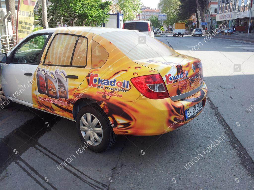 Renault Clio Araç Kaplama