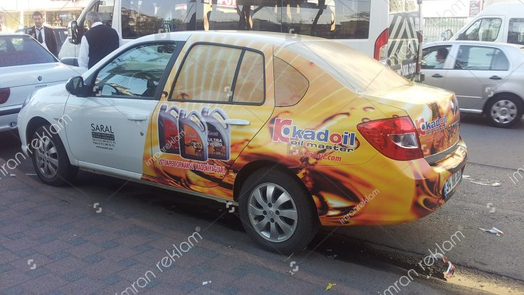 Renault Clio Araç Giydirme