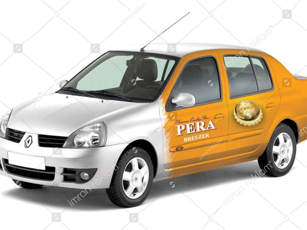 Renault Clio Araç Giydirme modelleri