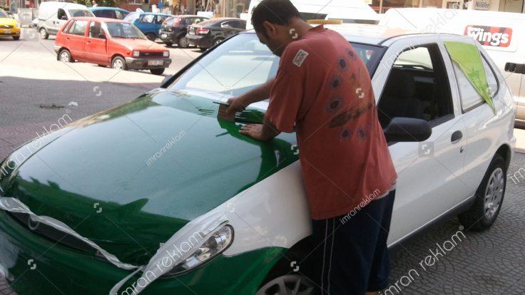Araç Giydirme'de Yaza Özel Kampanya