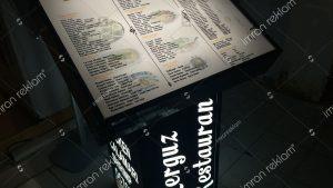 Pleksi Restaurant Tabela