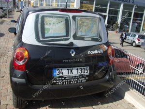 Renault Modus Araç Kaplama