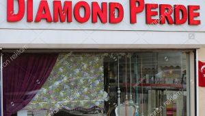 Diamond Perde Kutu Harf Tabela
