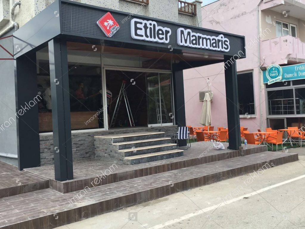 Etiler Marmaris Kutu Harf