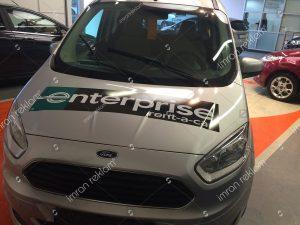 Ford turneo kısmi araç giydirme