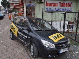 Hyundai getz bölgesel araç giydirme modelleri