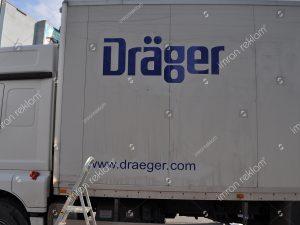 kamyonet logo kaplama