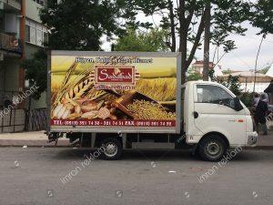 kamyonet kasası reklam kaplama