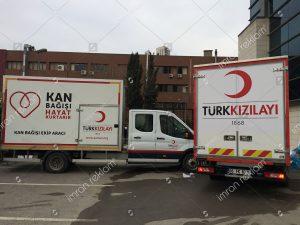 Kızılay kamyonet kaplama