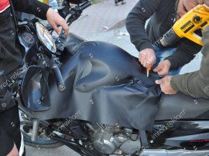 Mat renk Motorsiklet Giydirme