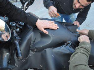 Motorsiklet Giydirme örnekleri