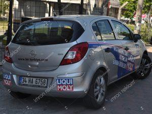 Opel astra araç giydirme örnekleri