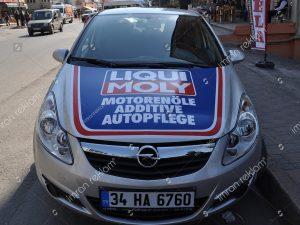 Opel Astra bölgesel logo giydirme