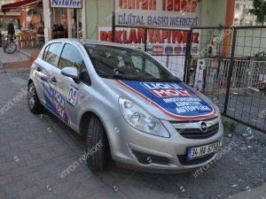 Opel astra araç kaplama örnekleri