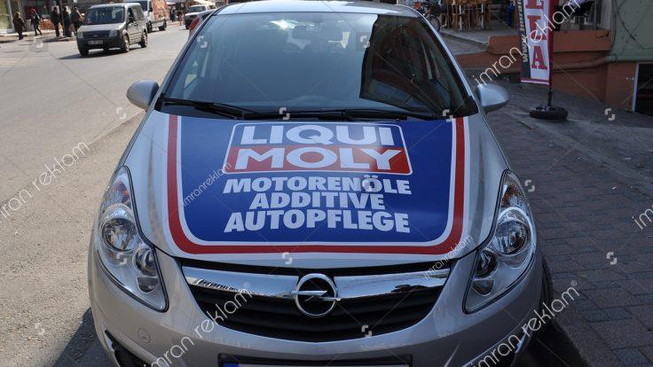 Opel astra araç giydirme