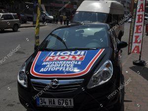 Opel astra kısmi araç kaplama örnekleri