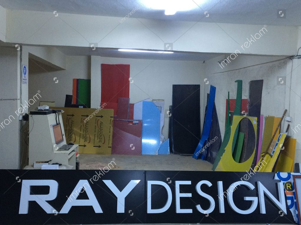 Ray Desing Kutu Harf Tabela