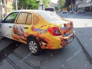 Reno Clio bölgesel araç giydirme