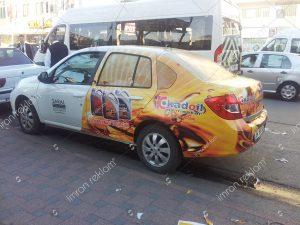 Reno Clio kısmi araç kaplama