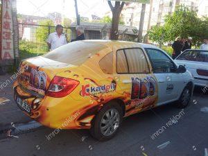 Reno Clio kısmi araç giydirme