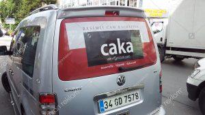 Volkswagen Caddy Araç Giydirme