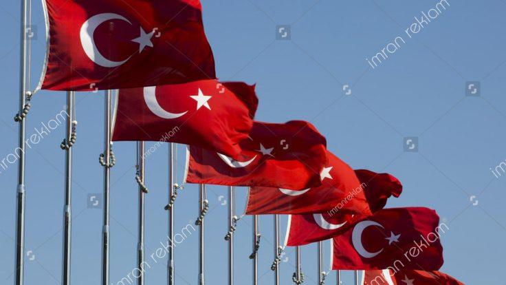 Türk Bayrağı Baskısı