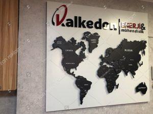 Dünya haritası tabelası örnekleri