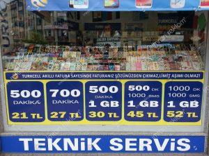 Turkcell kampanyaları cam kaplama örnekleri